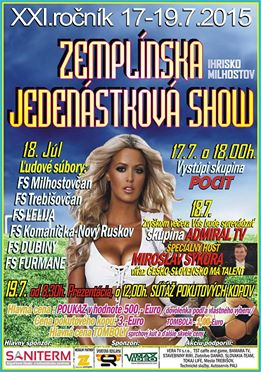 zemplínska jedenástková show
