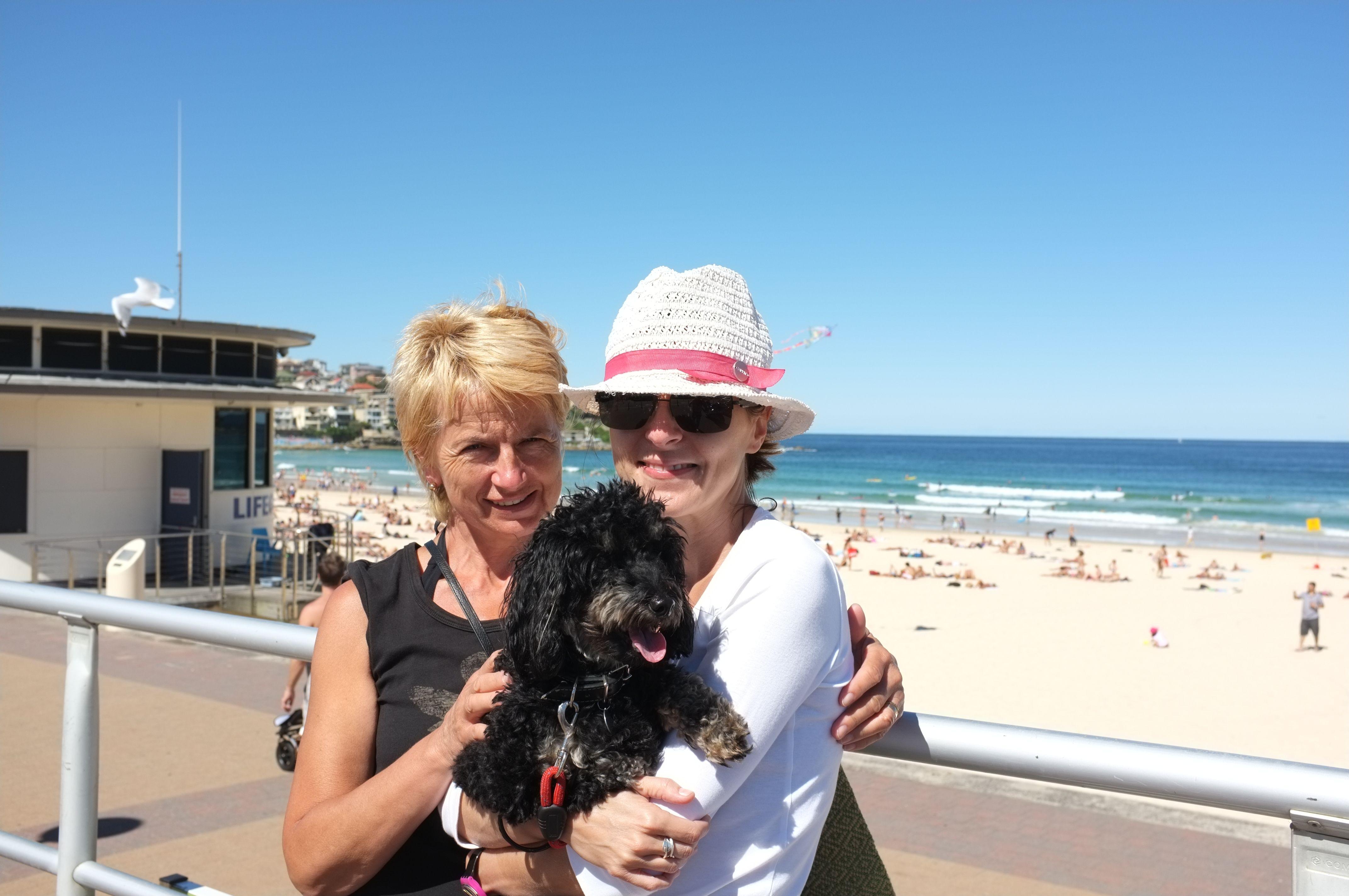 S tetou Evou a psíkom Maxim