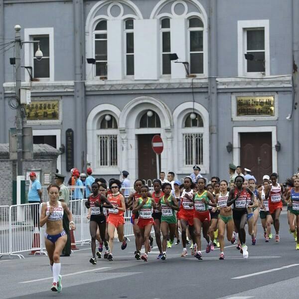 maratón Peking 2015