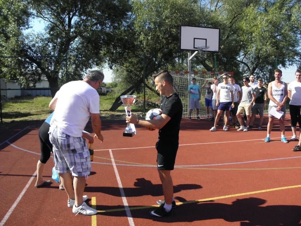 Futbalový turnaj v obci Hrčeľ; Zdroj: obechrcel.sk