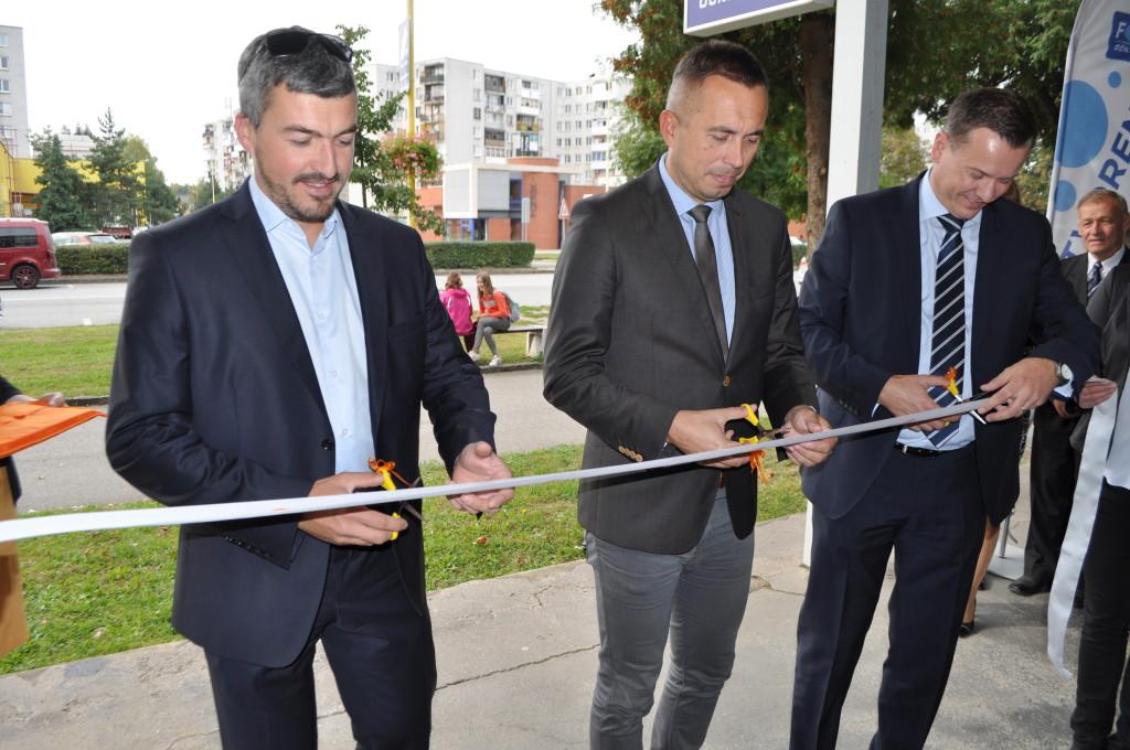 Zľava doprava - Ján Zápotočný, Marek Čižmár, Richard Varga