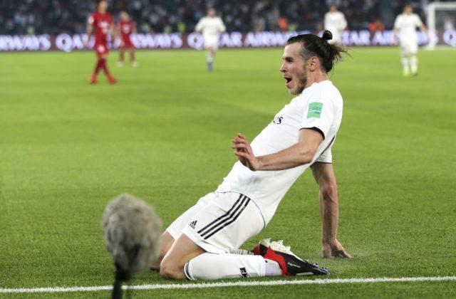 """b3798523736 """"Waleský expres"""" Gareth Bale bol hlavnou postavou stredajšieho druhého  semifinálového duelu na XV. futbalových majstrovstvách sveta klubov."""