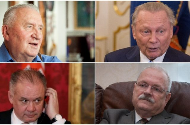 4421cb63c Životopisy doterajších prezidentov Slovenskej republiky – Michala Kováča,  Rudolfa Schustera, Ivana Gašparoviča aj Andreja Kisku.