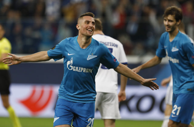 5d820552330df Róbert Mak má dôvod na radosť, s tímom Zenit Petrohrad získal ruský titul