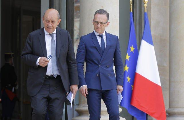 e7eb08100 Šéfovia diplomacií Nemecka a Francúzska nechceli špekulovať, kto mohol stáť  za útokmi na ropné tankery v Ománskom zálive. USA z útokov obviňujú Irán.