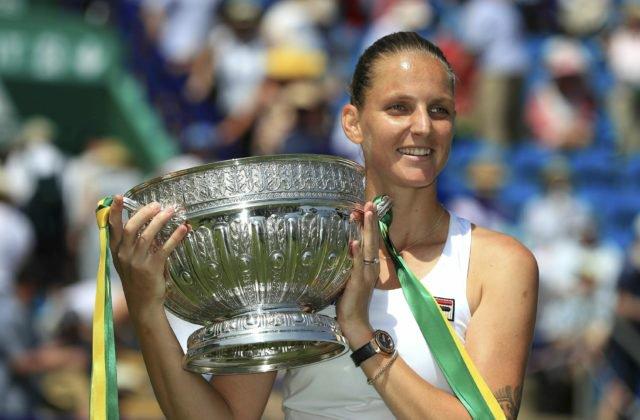 5cc04fd18de9c Video: Plíšková vo finále v Eastbourne zničila Kerberovú a získala svoj 14.  titul na okruhu WTA