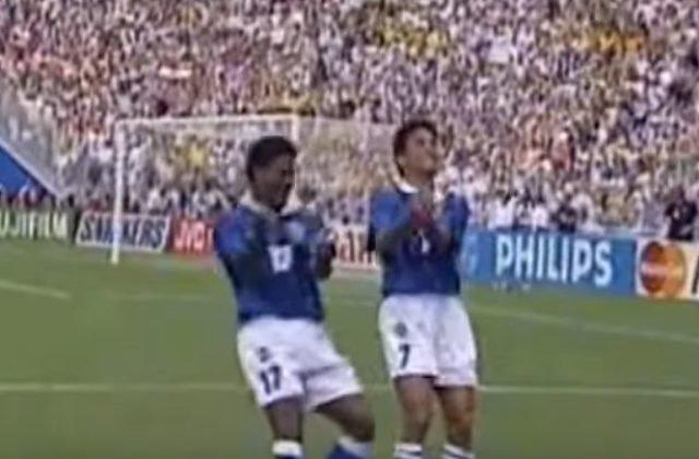 a2d6a3d85e52f Video: Majster sveta zaujal nevšednou oslavou gólu, Bebetova kolíska má 25  rokov