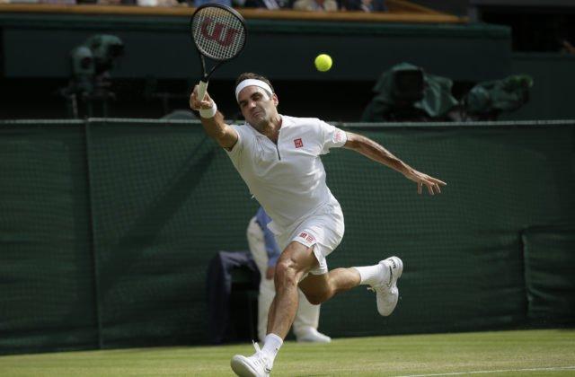 24bf21ce999d4 Video: Fantastický Federer má už 100 víťazstiev vo Wimbledone, o finále  zabojuje proti Nadalovi
